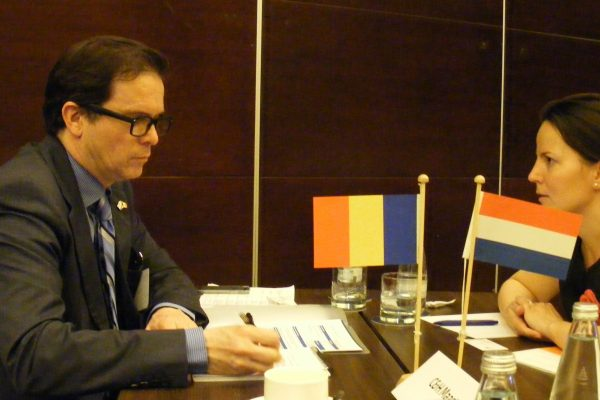 B2B meetings organised by FRD Center for Dutch companies participating at the Trade Mission from The Netherlands to Romania led by Minister Liliane Plouman in 2014