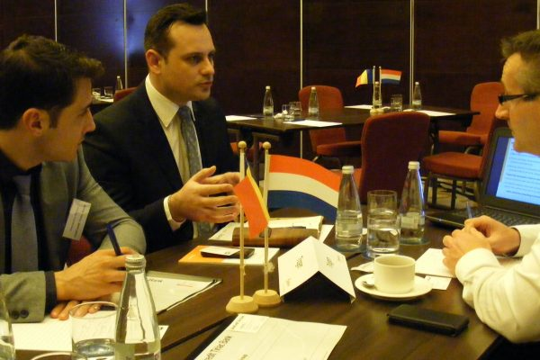 B2B meetings organised by FRD Center for Dutch companies participating at the Dutch Trade Mission to Romania in 2014