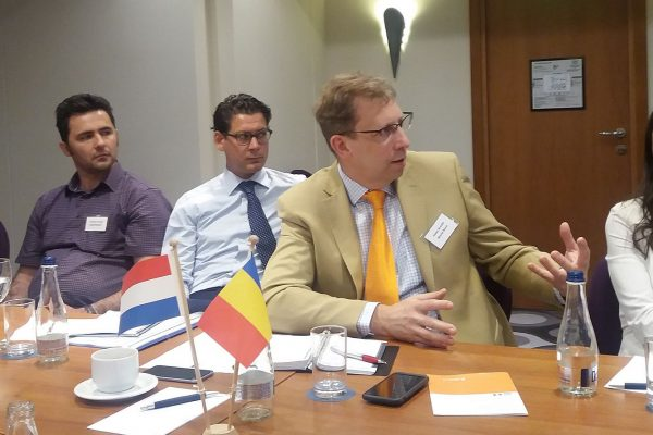 Roundtable for Dutch delegation in the Food Sector during the Trade Mission organised by FRD Center for the Royal Dutch Embassy in Romania